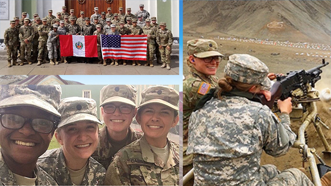 CULP sent Cadet Fell to Peru. Click the photo to learn more about CULP.