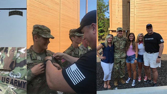 Congratulations to Cadet Peevy for graduating Air Assault School this summer. Click the photo to learn more about Air Assault School.