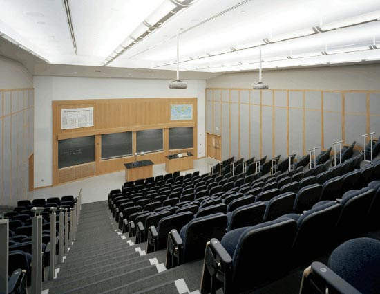 photo of the lecture hall