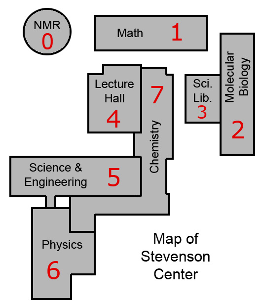 map of stevenson center
