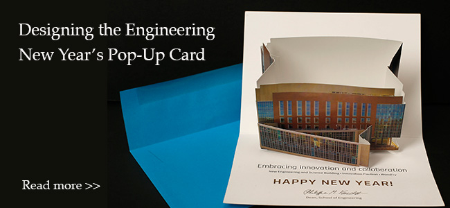Engineering Pop-Up Card