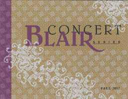 Blair Concert Series