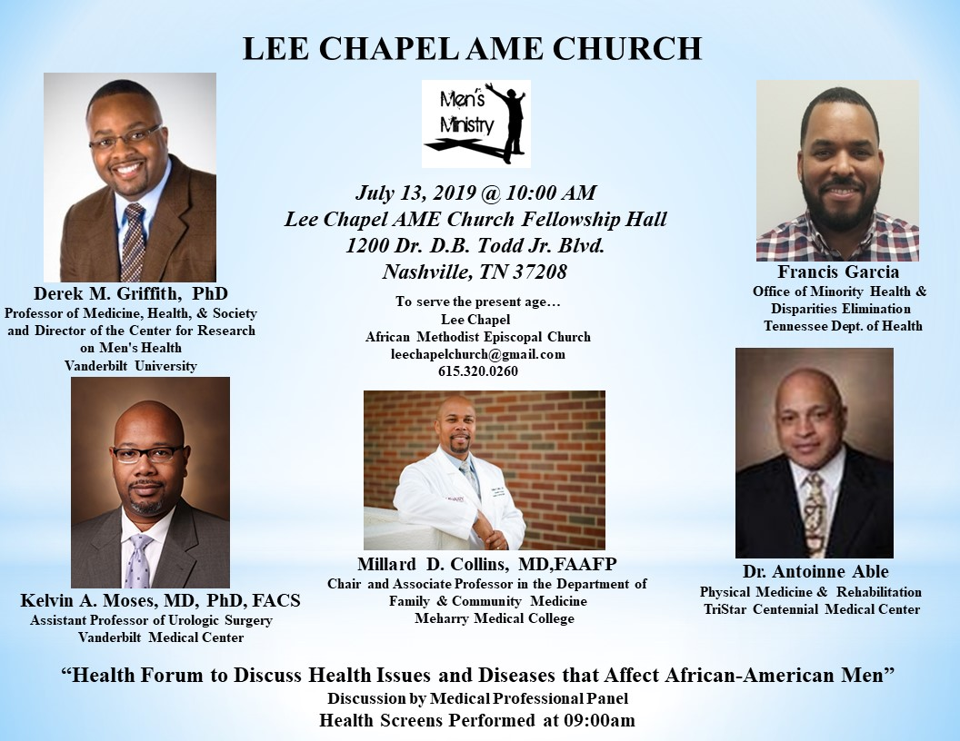 Lee Chapel AME Health Forum