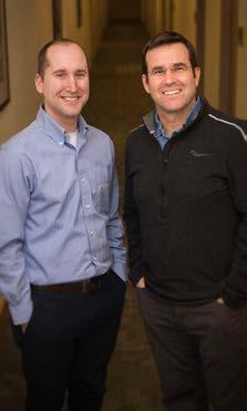 Co-Director David Lewis and Graduate Affiliate Mark Richardson