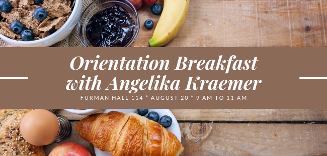 Fall 2019 Orientation Breakfast