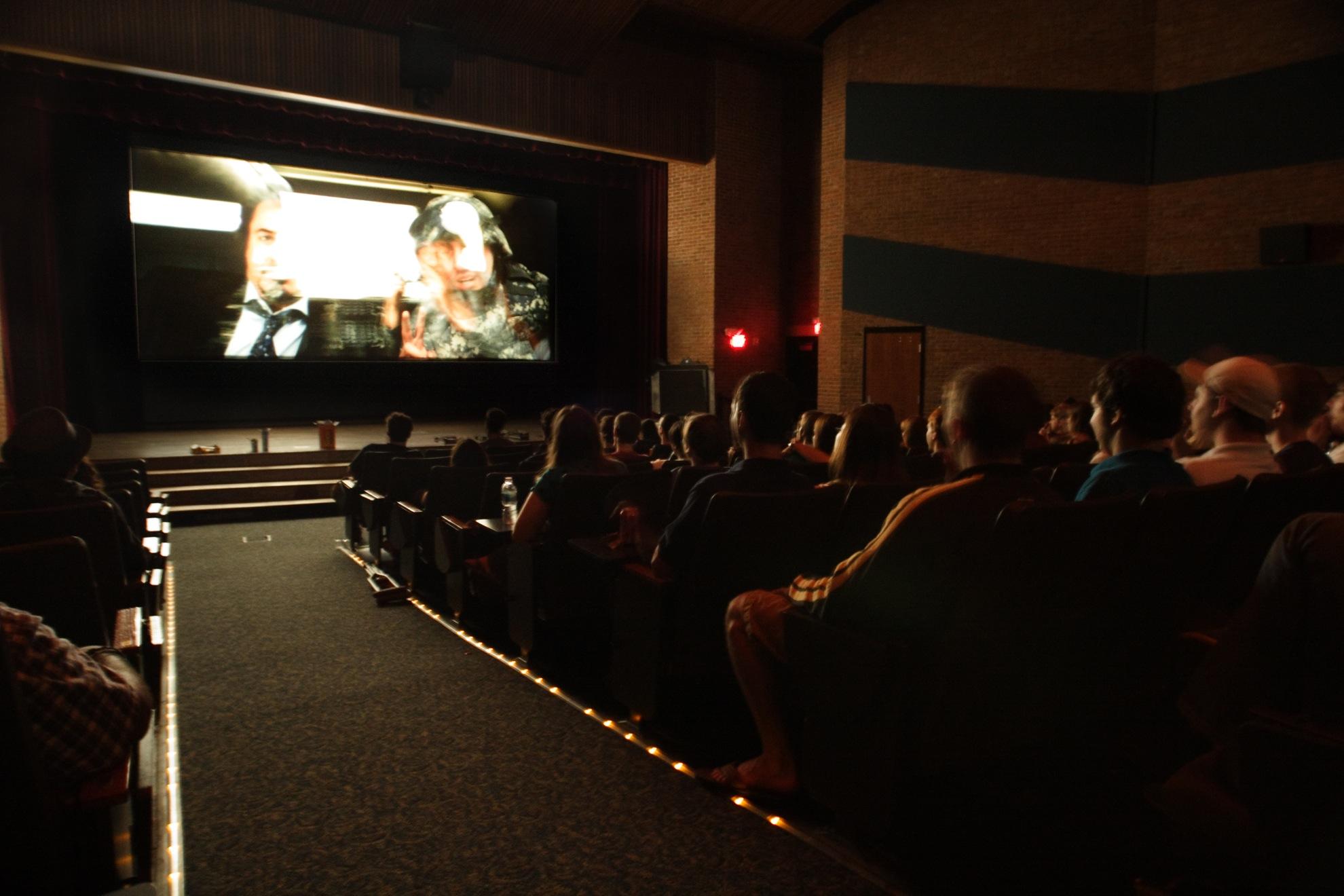 Sarratt Cinema is home to the  International Lens Film Series.