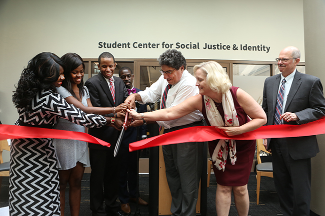 Student Center for Social Justice and Identity Grand Opening