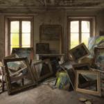 Collection of framed artwork