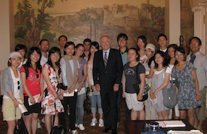 Summer 2010 LLM Students with Tennessee Governor Bredesen.