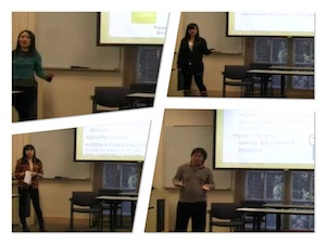 USECC Student Presentations.