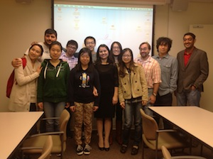 USECC Instructor and Students.