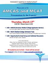 MCAT poster