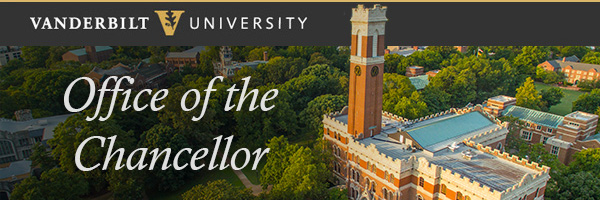 Chancellor E-Newsletter [Vanderbilt University]