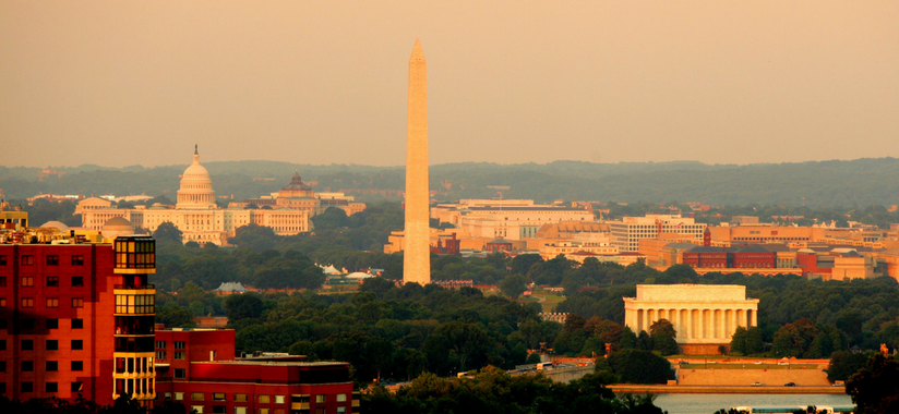 DC Above City