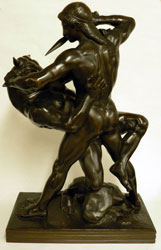 Theseus Battling the Minotaur