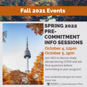 fall themed events flyer