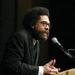 Civil Rights activist Cornel West