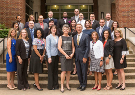 Governor's Academy participants with Commissioner McQueen, Dean Camilla Benbow (center) and Governor Haslam