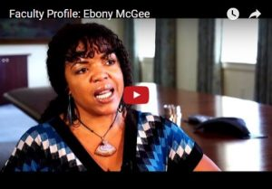 Video profile of Ebony McGee