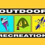 Outdoor Rec Color Logo w Gold BG