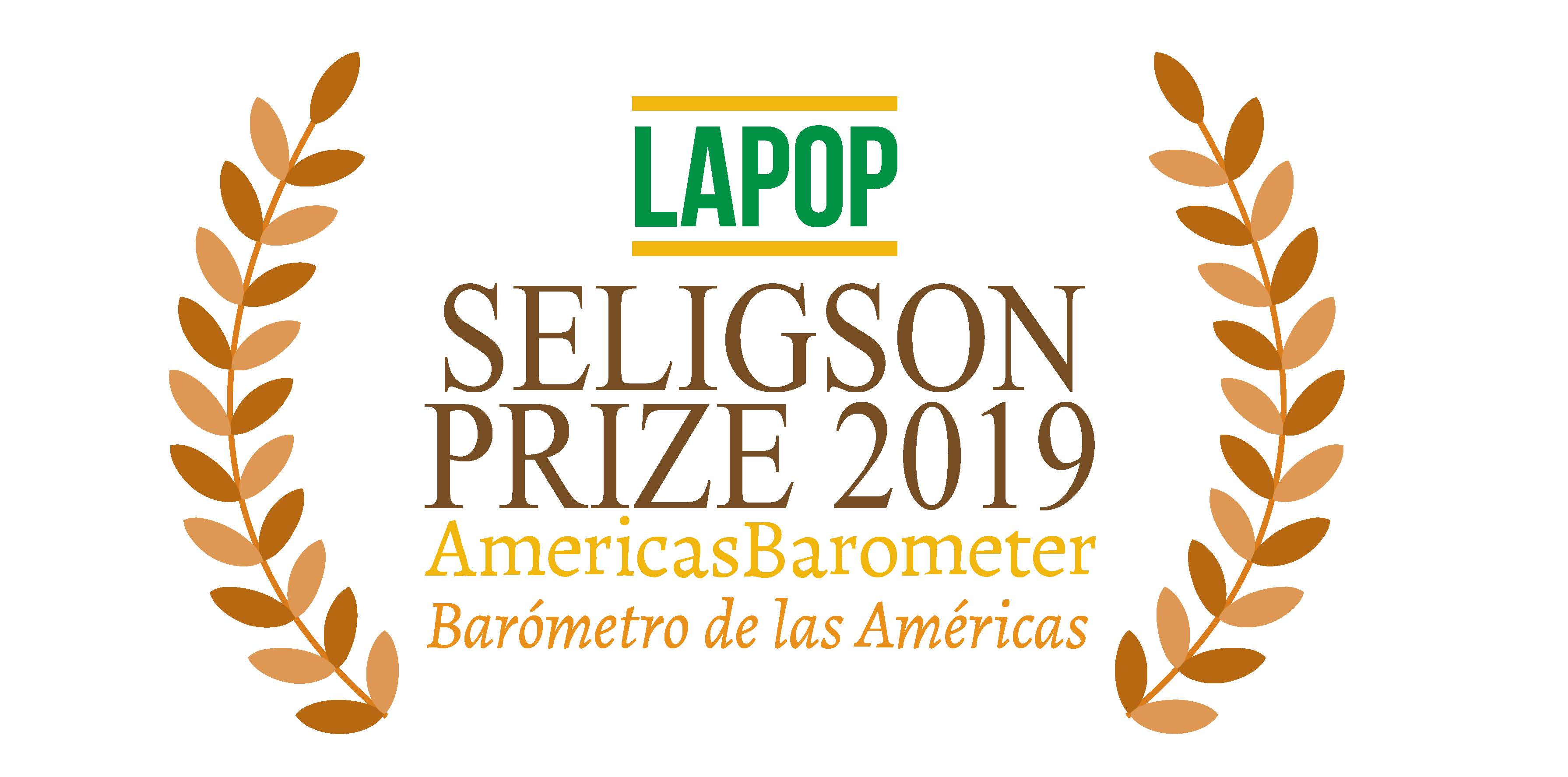 LAPOP is pleased to announce a competition for this year's Seligson Prize. Click for the full announcement.