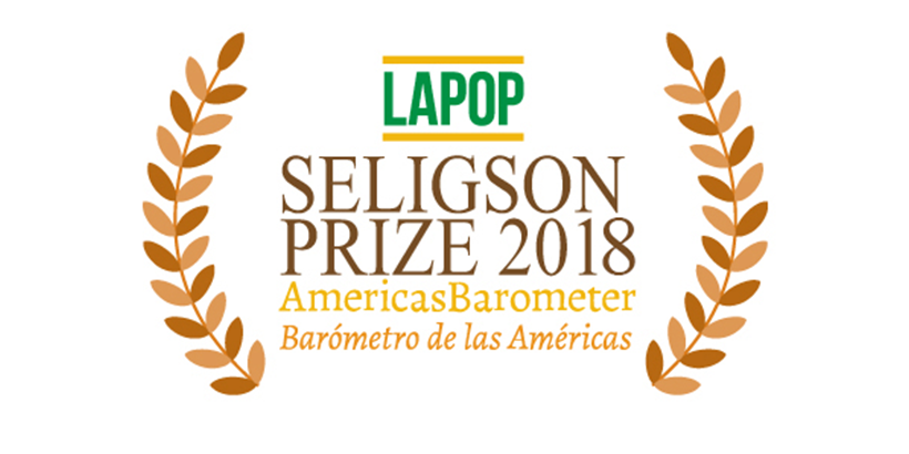 LAPOP is pleased to award the 2018 Seligson Prize to Samuel Handlin! Click for the full announcement and paper