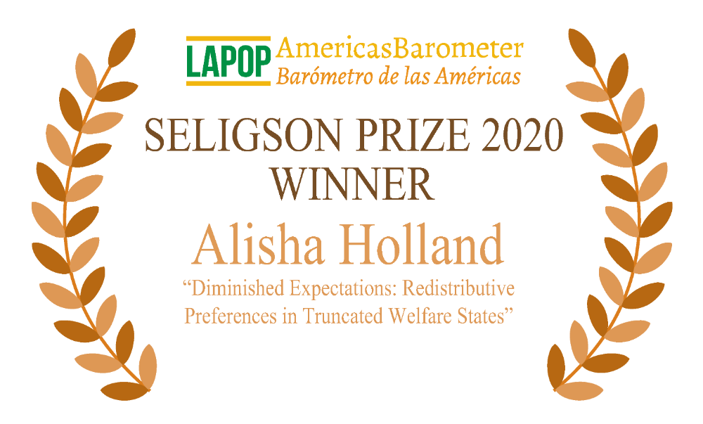 Seligson Prize 2020 Winner