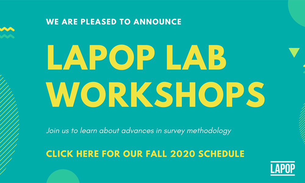 LAPOP Workshops