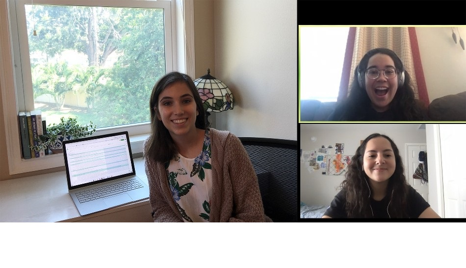 Enormous thanks to our undergraduate research assistants for transitioning to remote work during this time.