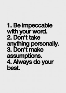 Four Agreements