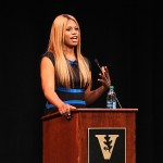 Laverne Cox at National Coming Out Week