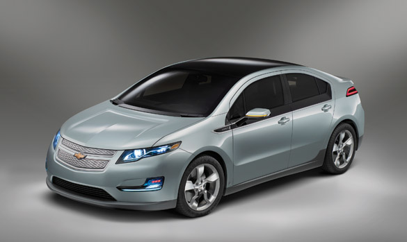 Proposed production version, Chevrolet Volt, 2011