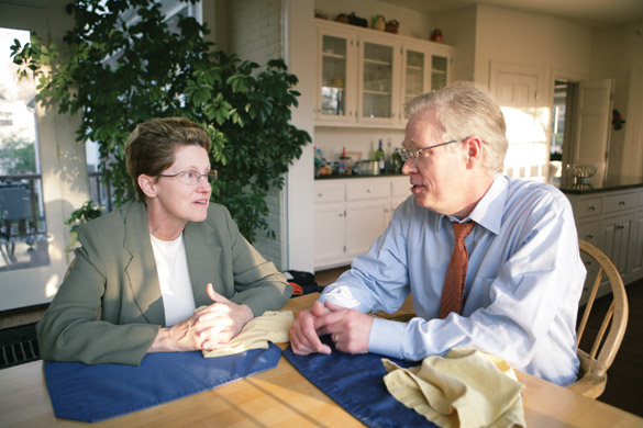 Dinner conversation between Jay and Ellen Wright Clayton, a physician and authority in medical ethics, sparked Jay Clayton's interest in how genetics and biotechnology are depicted in literature.