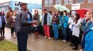 Students on an environmental justice tour discovered the issues facing some Nashville neighborhoods.