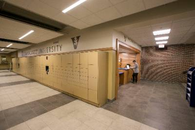 Amazon Locker Systems Building Package Rooms