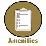 Amenities Button Outline