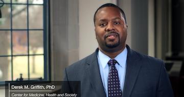 MHS Professor Derek Griffith featured in Vanderbilt's No Shame, No Blame: Secrets to Living Well video