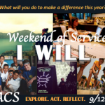OACS I Will Weekend of Service