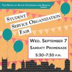 Service Organization Fair