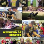 Weekend of Service Collage