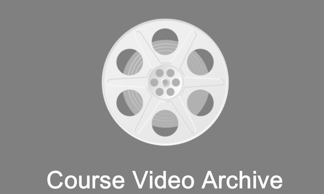course video archive