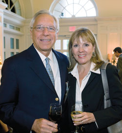 Tom and Georgia Davis, parents of current Peabody student Carey, who will graduate in 2014