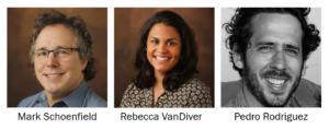 Headshots of text analysis panelists