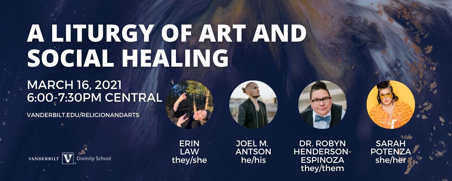A liturgy of art and social healing