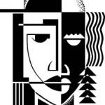 Cubist-Face-Design