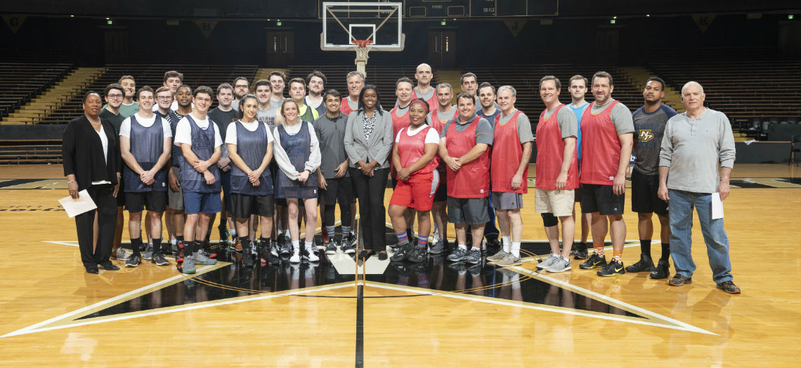 The 25th Anniversary of the TN General Assembly Members vs. Interns basketball game hosted at Historic Memorial Gymnasium