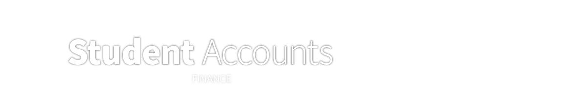 Student Accounts