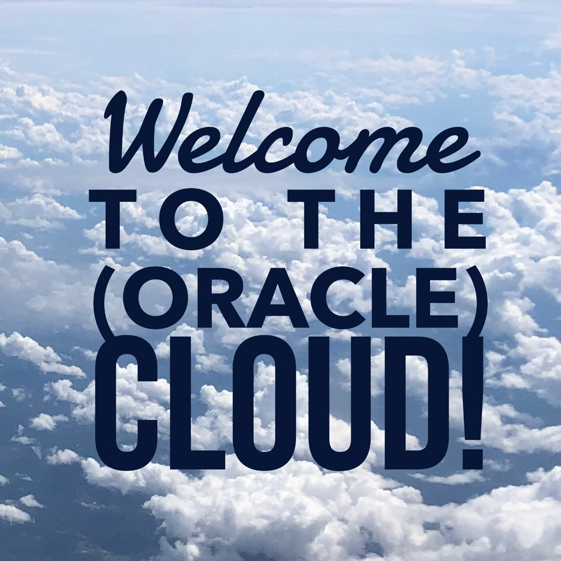 welcome oracle