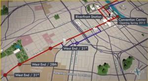 BRT proposed route