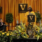 Senior Day Speaker Wangari Maathai (John Russell/Vanderbilt)